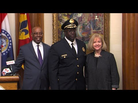 Appointment of John Hayden as Commissioner of the St  Louis Metropolitan Police Department