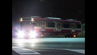 新京成80000形 印旛車両基地へ陸送