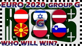 Euro 2020 Qualifiers Marble Race - Euro Group G