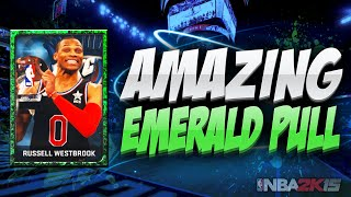 NBA 2K15 My Team Pack Opening - AMAZING EMERALD PULL! PS4