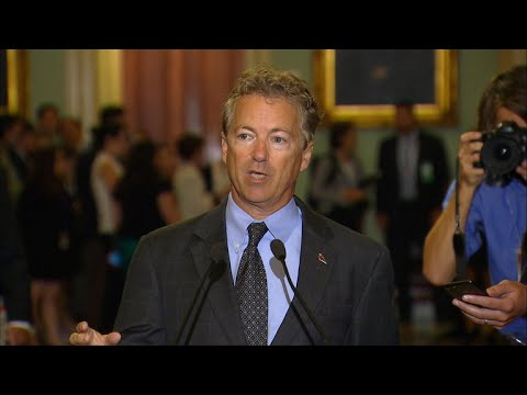 Rand Paul makes statement on failed health care bill