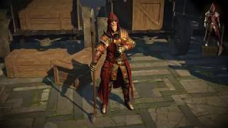 Path of Exile: Warlock Armour Set