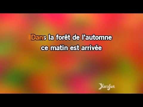 Karaoké Un lapin - Chantal Goya *