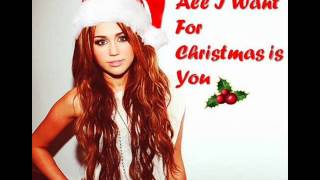 Download Miley Cyrus - All I Want for Christmas is You (Audio) (HQ) MP3 song and Music Video