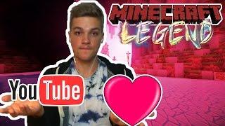YOUTUBE ODER LIEBE?!? Minecraft  Legend #11 | EsKay % Logo