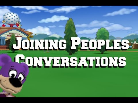 TTR Pranks: Joining Peoples Conversations