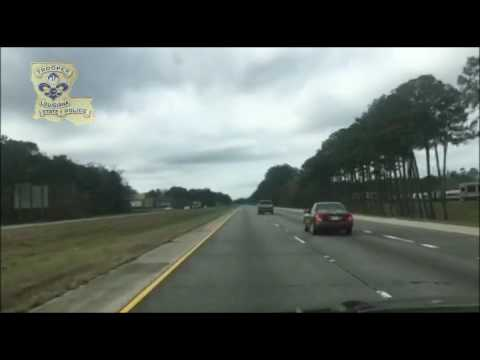 Unsettling Footage Captures Impaired Driver...