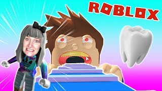 Roblox: ZAHNARZT ENTKOMMEN - Nina locked up in nasty dentist practice | Dentist Escape Obby
