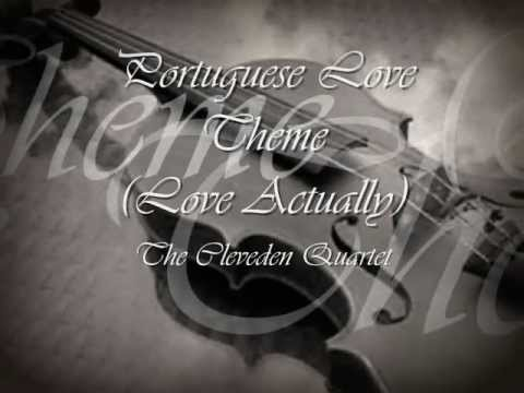 Craig Armstrong's Portuguese Love Theme (Love Actually) performed by the Cleveden Quartet