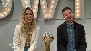 """Dancing With the Stars"" Winners Kaitlyn Bristowe and Artem Chigvintsev"