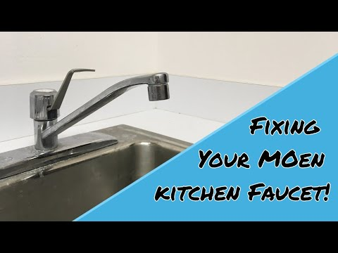 How To Fix Moen Kitchen Faucets