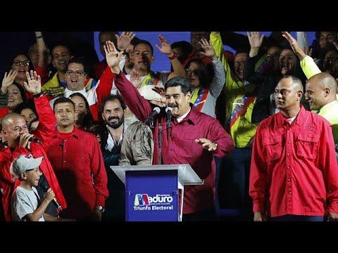 Maduro reeleito por entre denúncias de fraude e alta abstenção