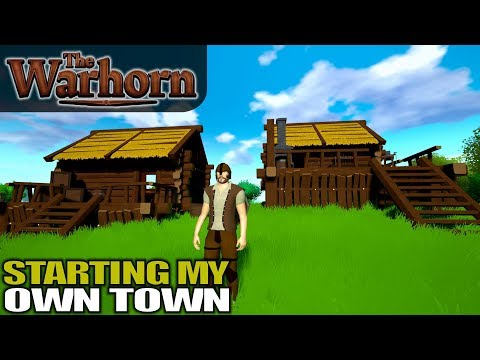 STARTING MY OWN TOWN & NIGHT HUNTER ATTACK | The Warhorn | Let's Play Gameplay | S01E03