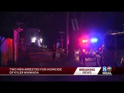 Two Accused In Harrisburg Homicide