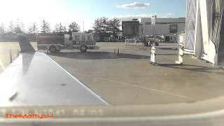 US Airways Emergency Landing Piedmont Triad Intl thumbnail