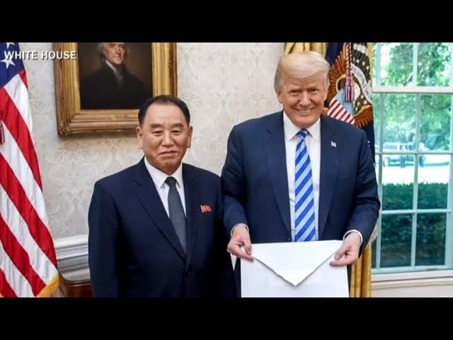 Trump hopeful ahead of North Korea summit