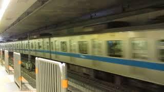 小田急3000形3091F東北沢駅通過
