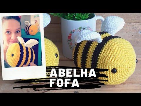 LUNA Abelha Amigurumi - Receita em PDF   Amigurumi, Abelha ...   360x480