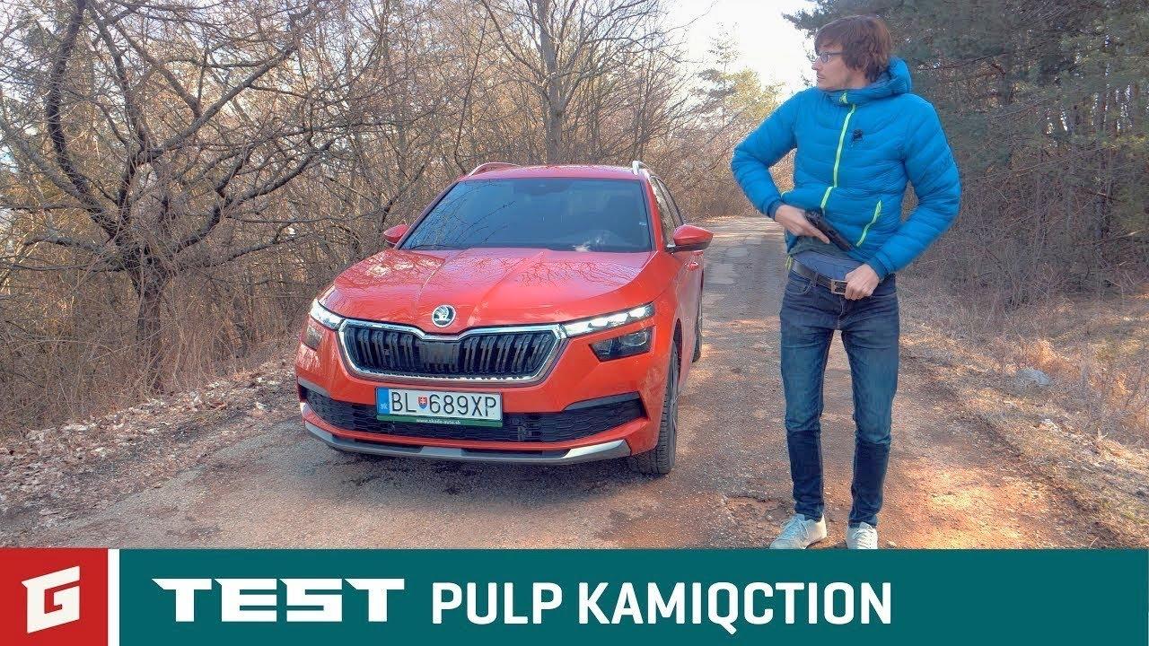 SKODA Kamiq 1.0 TSI Style DSG - TEST - GARAZ.TV - Šulko - YouTube