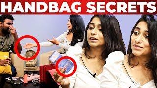 Malaysian Currency Inside Vishnu Priya handbag Revealed by VJ Ashiq | What's Inside the HANDBAG