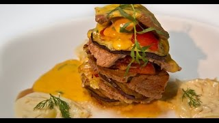 Башенка из свинины и говядины | Мясо. От филе до фарша