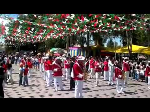 Quecholac. Puebla. Marching band