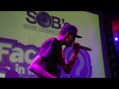 CARDIER QOOL - MAY 29TH 2018 FACES IN THE CROWD SHOWCASE @ SOBS NYC