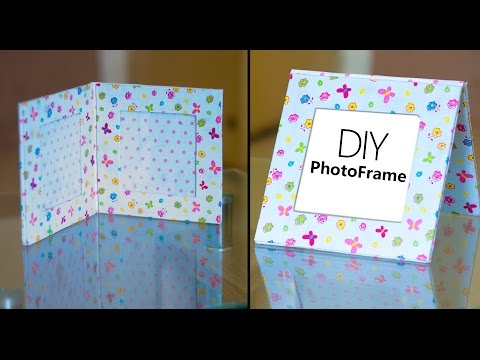 Photo Frame tutorial  | DIY picture frame | How to make | Beads art