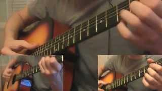 Макс Корж - В лёгких тает дым (arrangement with a guitar)