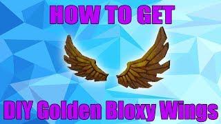EVENTO COMO OBTER AS ASAS DIY GOLDEN BLOXY EM ROBLOX | 6 anual Bloxy Awards