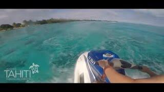 Incredible Tahiti! Swimming With Stingrays!