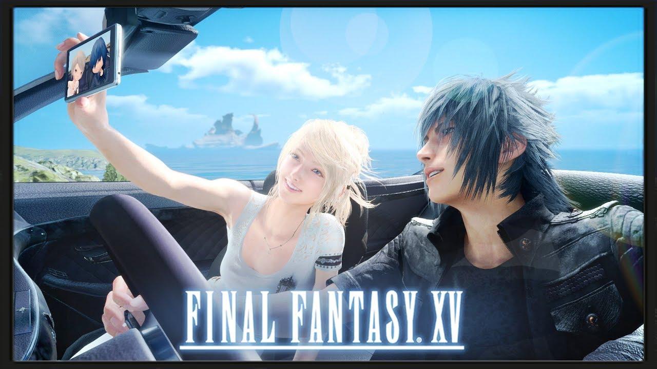 Final Fantasy XV - Luna Death - YouTube