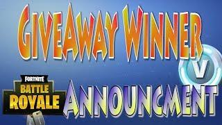 2,000 V-Bucks Giveaway Winner ANNOUNCED! 353 Squad Wins Xbox | Fortnite Free Vbucks