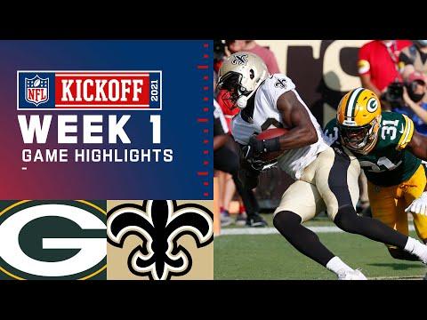 Packers vs. Saints Week 1 Highlights | NFL 2021