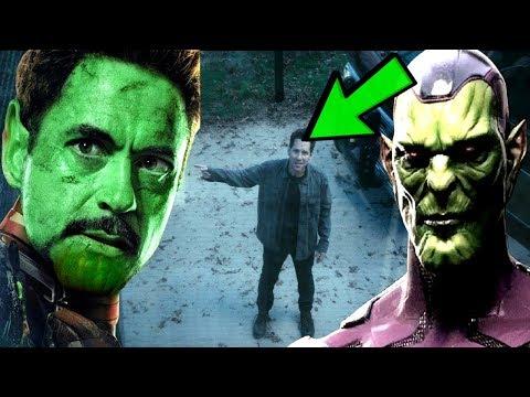 Captain Marvel Avengers 4 ENDGAME SECRET SKRULL REVEALED! Secret Invasion News & Theory Explained!