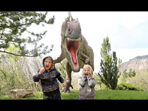 SCARY SARDINES AT JURASSIC PARK!!! | HIDE AND SEEK