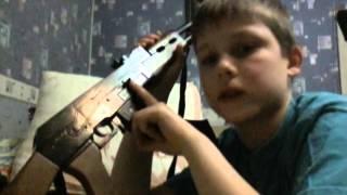 Іграшковий автомат Ак-47 фірми Gonher
