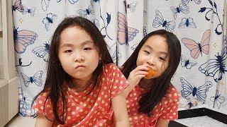 아빠 문제 맞추고 곶감 먹기 ᕙ(•̀‸•́‶)ᕗ