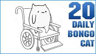 Bongo Cat Has Crippling Depression [Daily Bongo Cat #20]