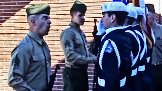 MARINE Messing with Air Force JROTC Cadets! Hilarious! 😂
