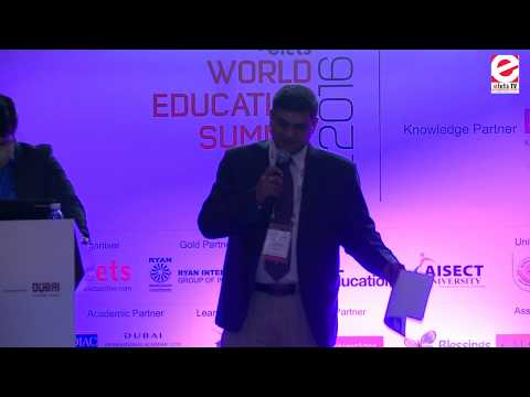 WES 2016 Dubai - Dr Phani Kishore, Special Secretary, IT Electronics & Communications Department