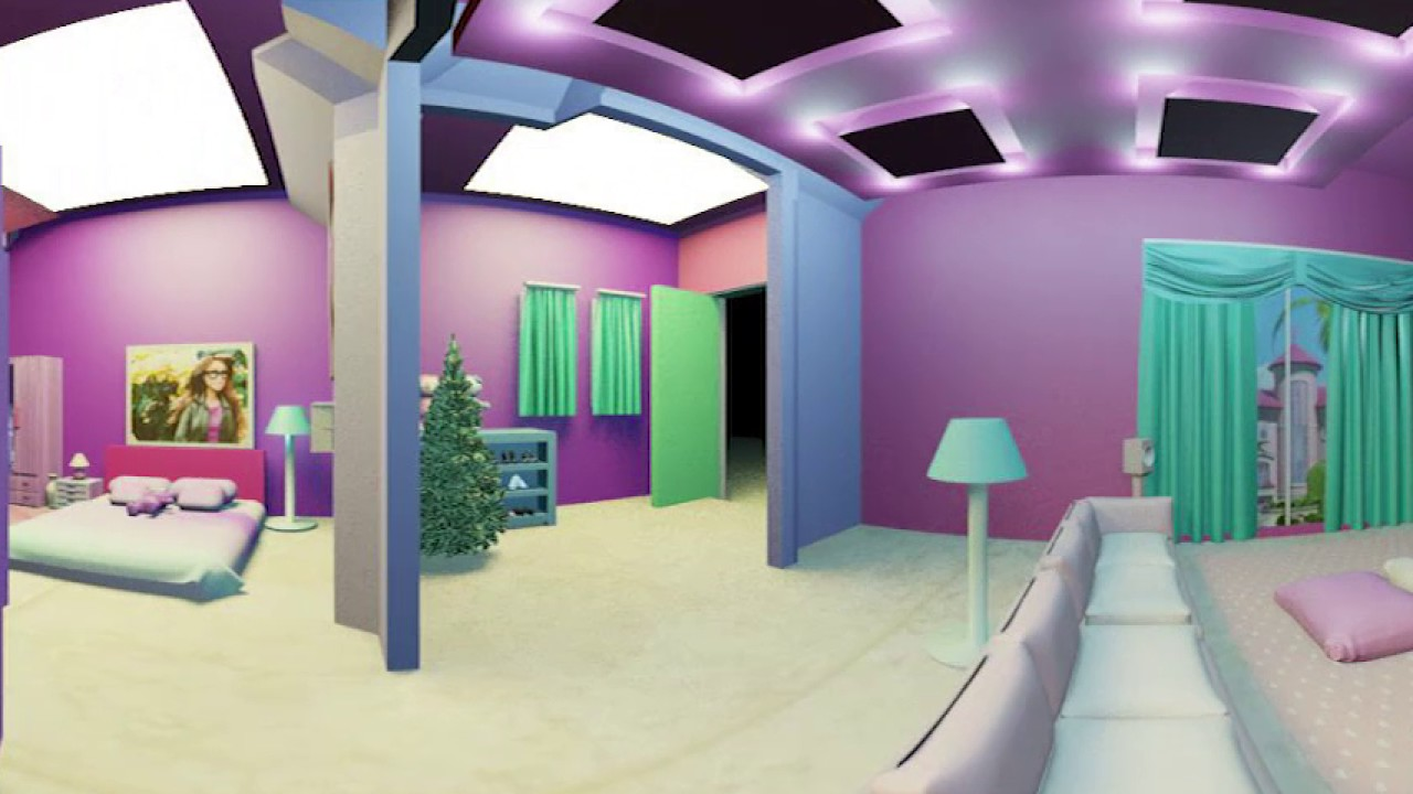 Doll house vr 360 video youtube for Vr house