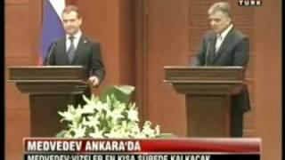 Выступление Дмитрия Медведева в Турции