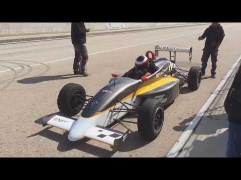 Formula Renault driving experience - Euroring [HUN]