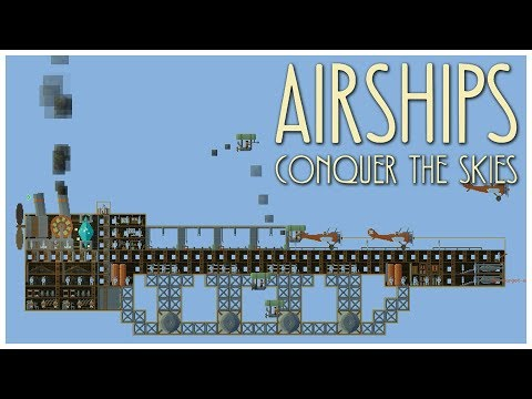 Airships: Conquer the Skies [Early Access] - PLANES! - Let's Play / Gameplay / Beverage