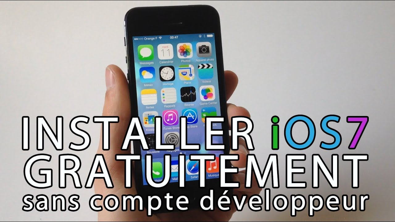 installer gratuitement ios 7 beta sur iphone ipod touch ipad sans compte d veloppeur youtube. Black Bedroom Furniture Sets. Home Design Ideas