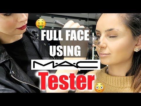 WTF 😮Full Face using MAC TESTER !! I Tamtam Beauty
