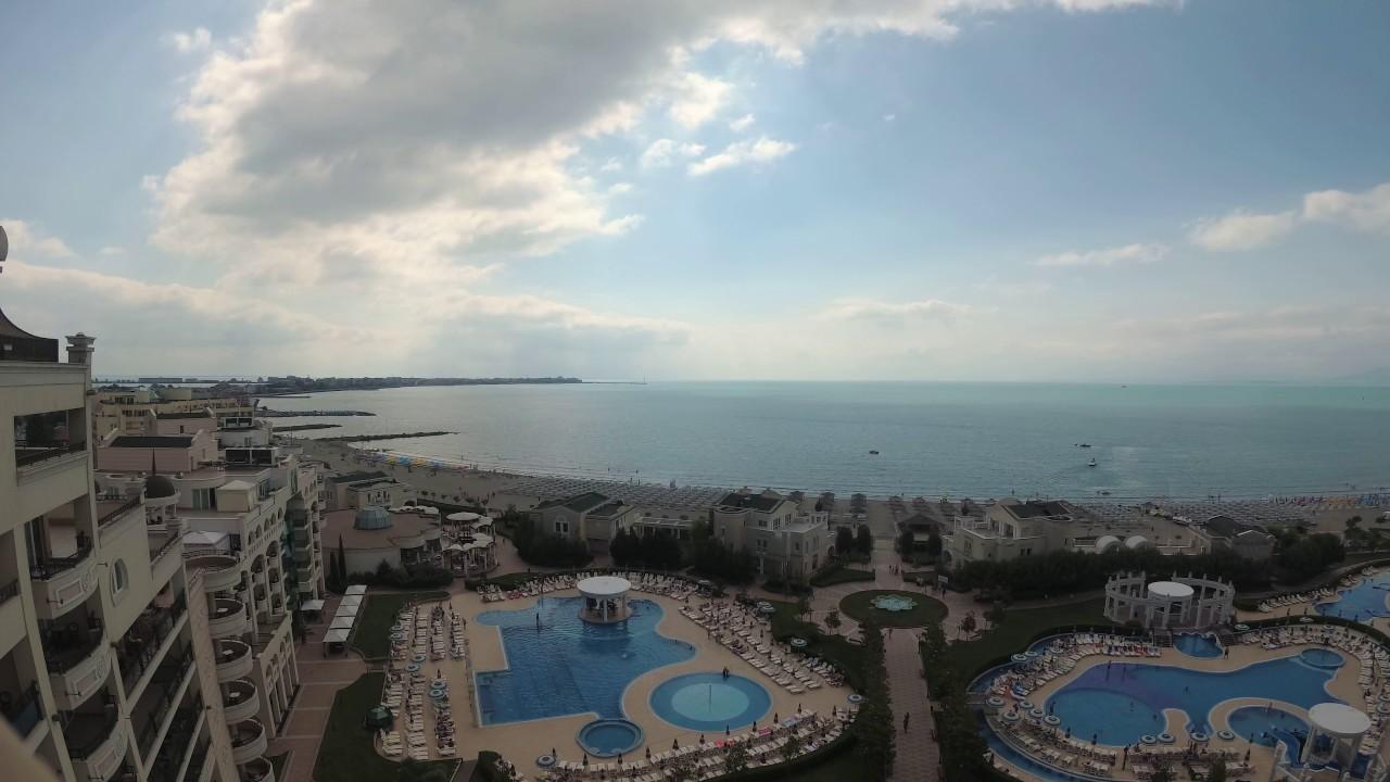 Sunset Resort Pomorie Bulgaria July 2017 4k