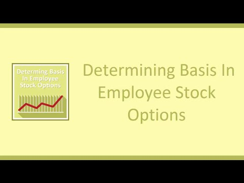 Determining Basis in Employee Stock Options