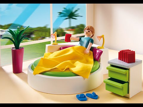 Achat playmobil n 1 chambre des parents 5583 youtube for Chambre playmobil